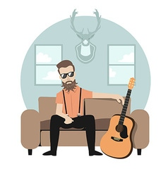 Rocker preview vector