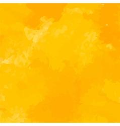 Yellow watercolor background vector