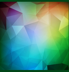 Abstract polygonal background futuristic design vector