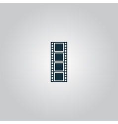 Cinematographic film vector