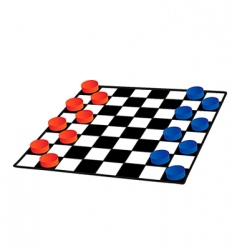 checkers vector image vector image