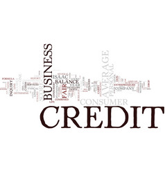 Entrepreneurs don t have average credit scores vector