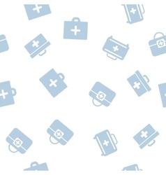 Medical case seamless seamless flat pattern vector