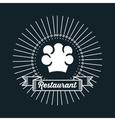 Restaurant menu food design vector