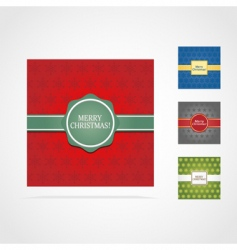 Christmas cards vector