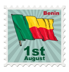 National day of benin vector