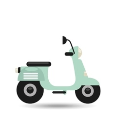 Motorcycle icon design vector