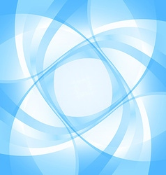 Abstract blue backgroundt vector image vector image