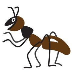 Cartoon ant vector
