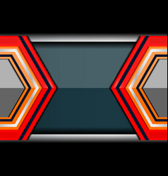 Geometric abstract technology backgrounds vector