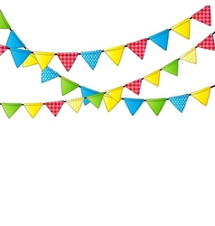 Party Flag Background vector image