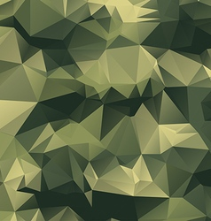 Polygonal camouflage background vector