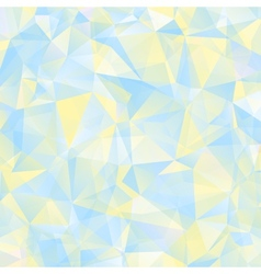 Triangle geometric retro background vector