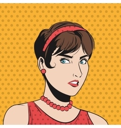 People design pop art icon retro and colorfull vector