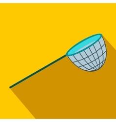 Fishing net flat icon vector