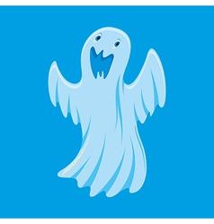 Ghost cartoon character vector