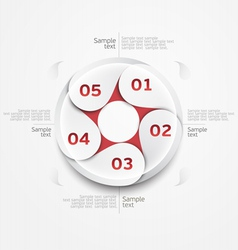 Design circle vector image