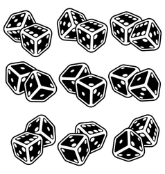Casino icon vector image