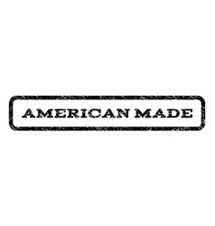 American made watermark stamp vector