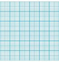 Graph paper cyan color seamless pattern vector image vector image