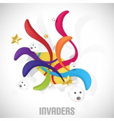 Invaders vector