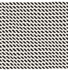 Wavy hand drawn slanted lines seamless vector