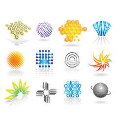 Graphic symbols set vector