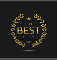 Best team label vector