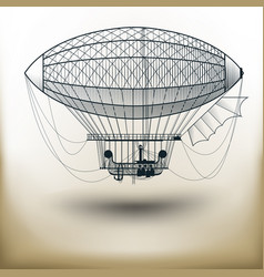 air ballon vector image