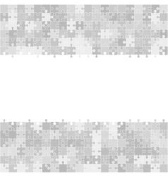 400 grey puzzles frame vector