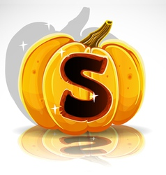 Halloween Pumpkin S vector image