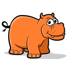 Hippo Cartoon vector image vector image
