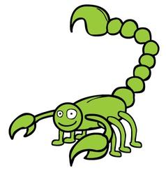 Scorpion cartoon vector