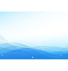 Transparent wavy blue modern certificate vector