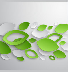 Paper leaves2 vector