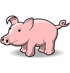 Little piggy vector