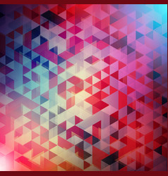 Abstract background colorful triangle background vector