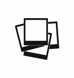 Photos icon in simple style vector image