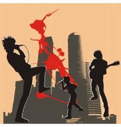 Rockers vector