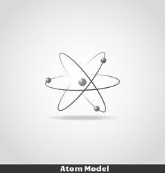 Simple atom icon copy vector image vector image