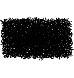 graffiti tag grunge abstract pattern black white vector image
