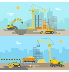 House construction composition vector