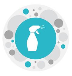 Of barber symbol on glass vector