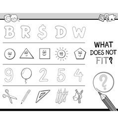 Wrong item activity for coloring vector