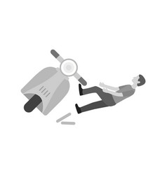 accident vector image