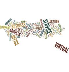 Entrepreneurs go virtual text background word vector