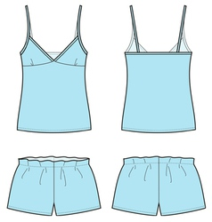 Sleepwear vector