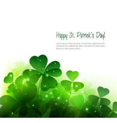 Happy saint patricks day background vector