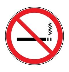 Sign no smoking vector