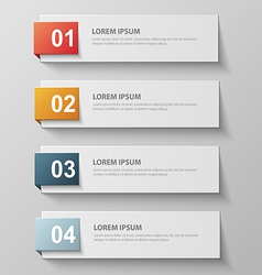 paper infographic42 vector image